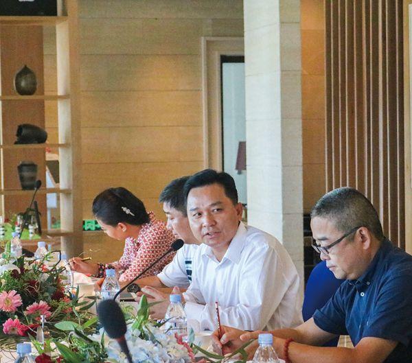 三亚凤凰岛度假酒店总经理林顺伟,三亚蜈支洲岛旅游区副总裁兼运营总